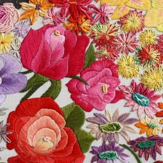 10 embroidered works of art that showcase the beauty of Spring