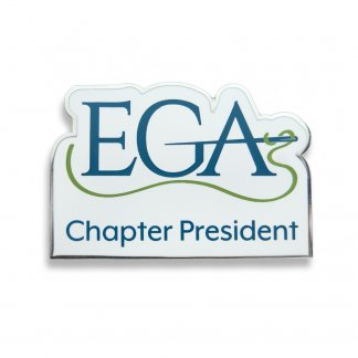 EGA Chapter President Pin