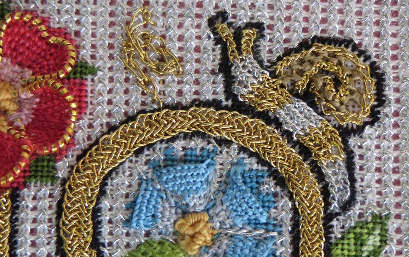 More Than A Rose Surface Embroidery Class