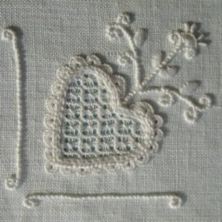 A Basic Study of Schwalm Embroidery with Barbara M. Kershaw