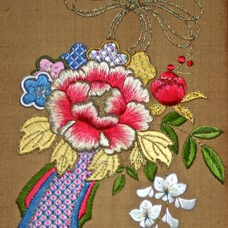 Silk and Metal Thread Embroidery with Kay Stanis