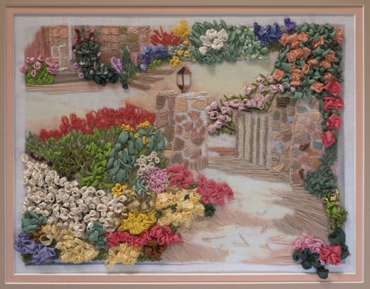 Embroidered Flower: English Garden