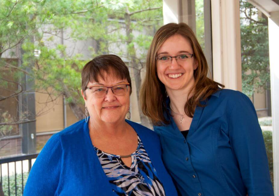 Board of directors: Karen Hamilton and Courtney Matthews