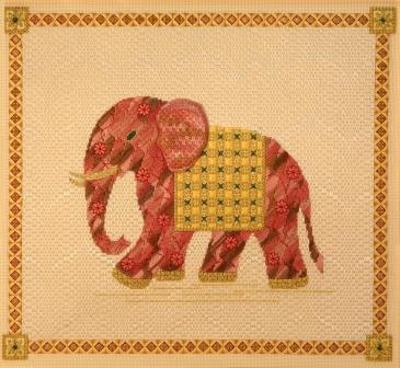 Maharajah's Elephant Canvas Class