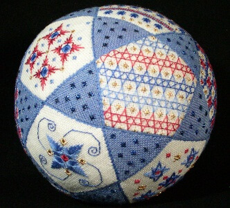 Star-Spangled Puzzle Ball with Denise Harrington Pratt