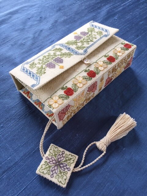 Betsy Morgan's Virgin Queen's Stitching Wallet