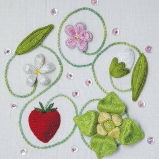 A Journey into the World of Raised Embroidery: Stumpwork Techniques with Celeste Chalasani