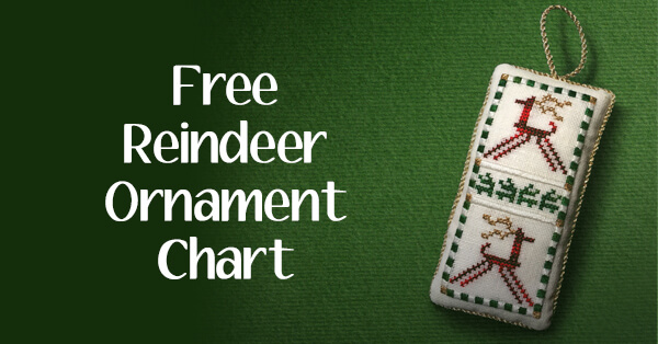 Free Project: Reindeer Ornament Chart