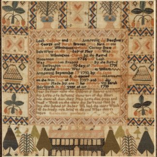 'Embroidery: The Thread of History' exhibit in Delaware to explore the use of embroidery as historical documents