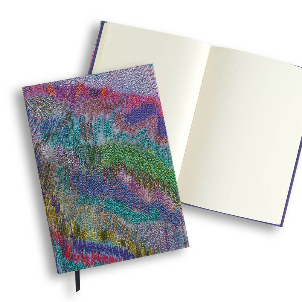 Fractured Rainbows Embroidery Journal