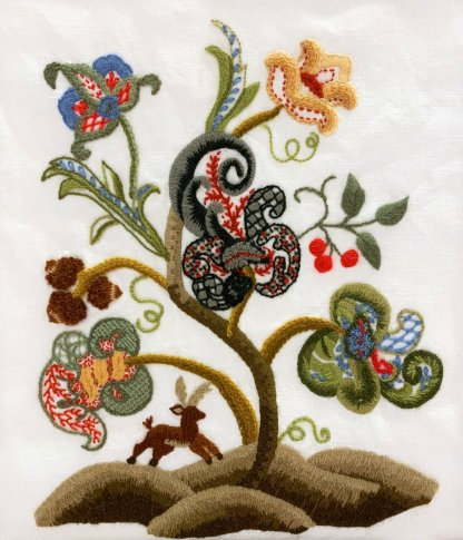 Jacobean Crewel Embroidery with Carol Currier
