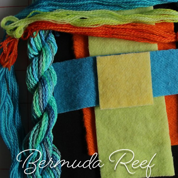 Fingertip Gloves: Bermuda Reef