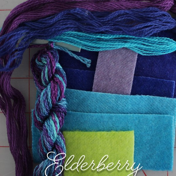 Fingertip Gloves: Elderberry