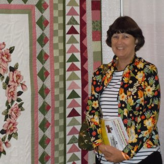 Beth Carlson is the new chairman of our Master Craftsman: Quilting Program