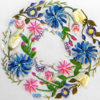Online Class: Beginning Brazilian Dimensional Embroidery with Judy Caruso