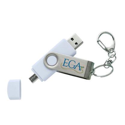 EGA Blank USB & Micro USB Flash Drive