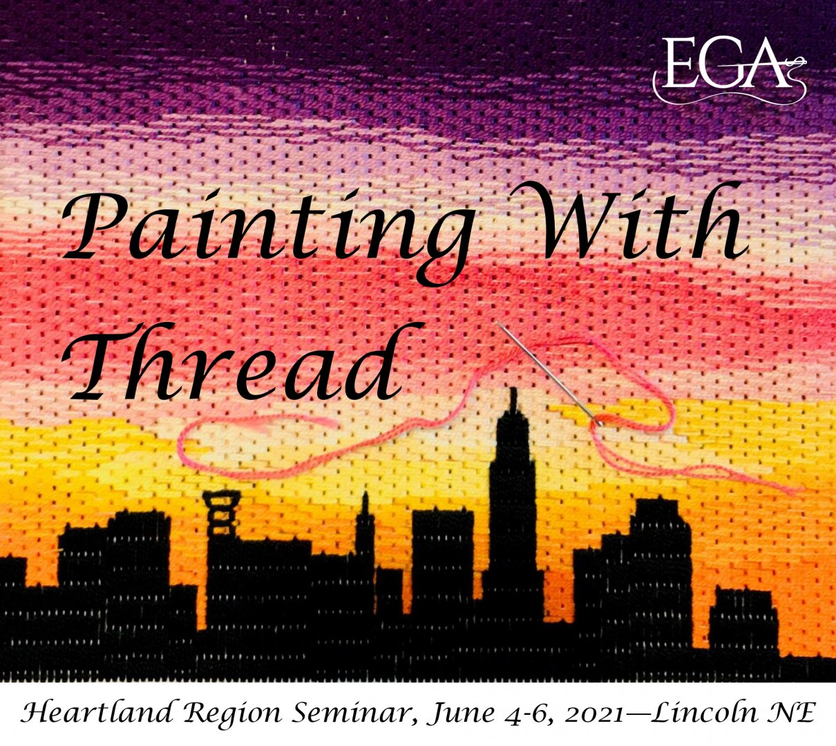 Heartland Region Virtual Seminar: Painting with Thread
