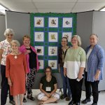 Constellation Chapter stitches and quilts Love Quilt for a child in need