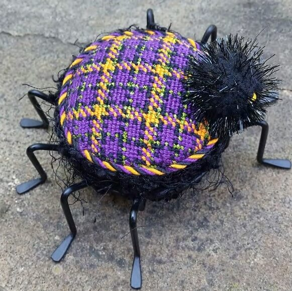 Halloween Plaid Spider Chart
