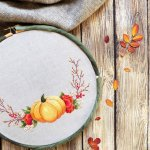 Guest Post: Free Pumpkin Embroidery Project from Stitch Floral
