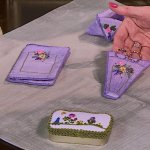Kim Sanders and Sheryl Borden discuss Silk Ribbon Embroidery on Creative Living
