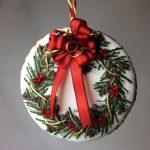 Free Project: Crewel Wreath Ornament Chart