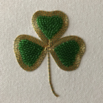 New Petite Project: Golden Shamrock
