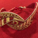 Online Class: Goldwork Bracelet with Cynthia Jackson