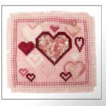 Guest Post: Free Heart Canvas Work Pin Project by Catherine Jordan