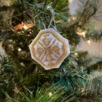 2020 Holiday Countdown: 31 Days of Stitched Ornaments