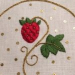 Guest Post: Free Elizabethan Strawberry Embroidery Project by Margaret Kinsey