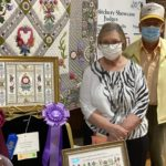 EGA Member Rozelle Hirschfelt takes home 3 top prizes at Stan Hywet Needlework Guild's 47th Stitchery Showcase